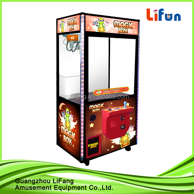 Coin operated claw crane machine for sale/Toy grabbing machine