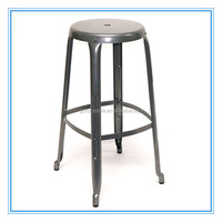 Industrial Metal Bar Stools Round bar stool 301