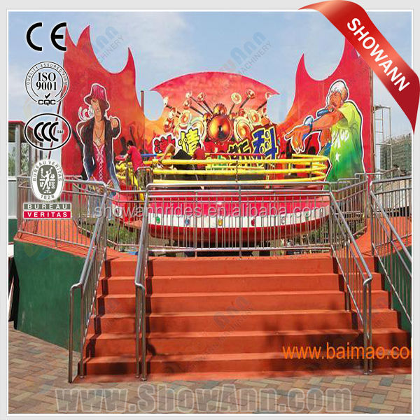 The most popular amusement equipment amusement park equipment carnival games disco tagada rides for sale