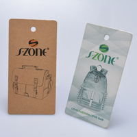 made Custom garment hangtags Paper cardboard fancy lovely paper