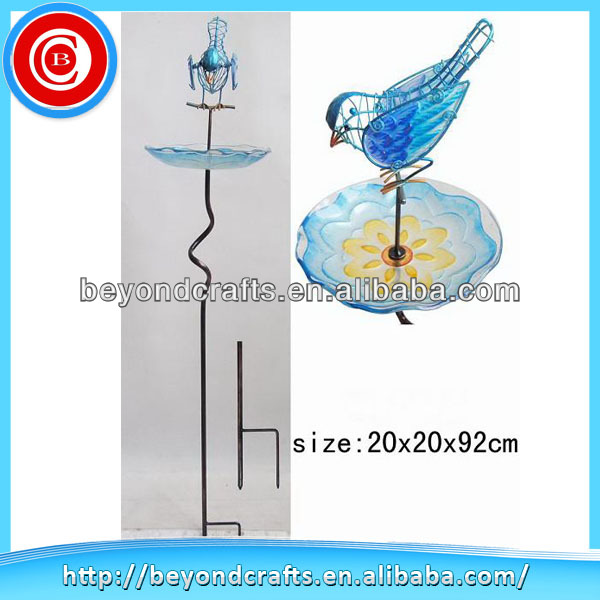 Newest design of metal bird bath
