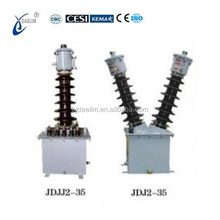 138kV oil-filled inductive voltage transformer