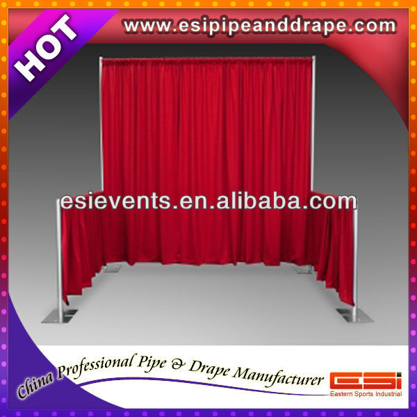 ESI flexible curtains sets for wedding wall decoration