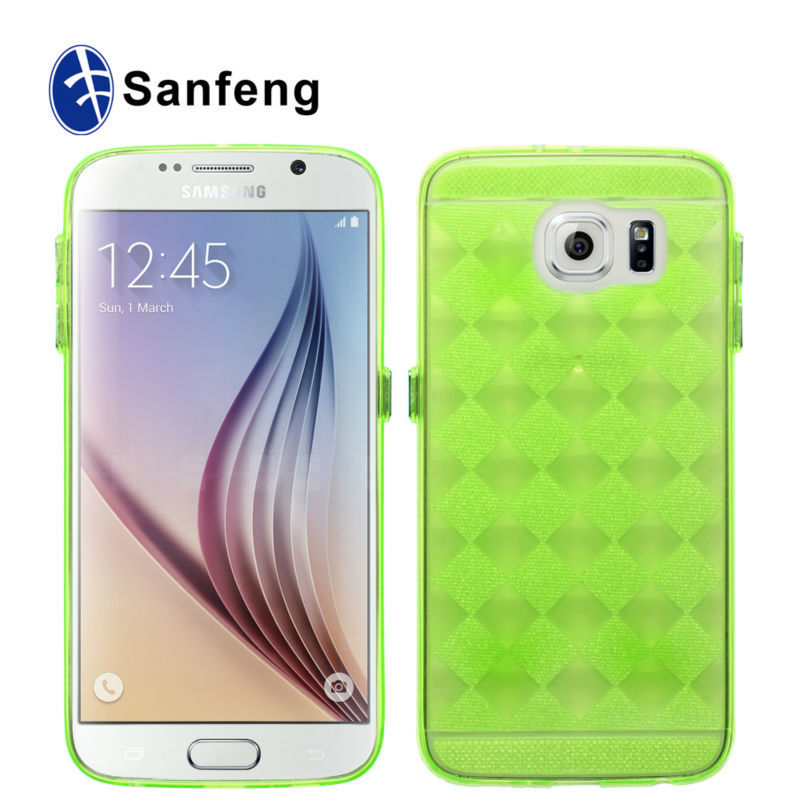 Newest style manufacture price plastic smart phone cases for Samsung galaxy s6