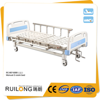 RC-007 Simple Cheap Price Manual Nursing Bed On Hot Sale