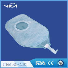 Two piece Medical Disposable colostomy bag urostomy bag