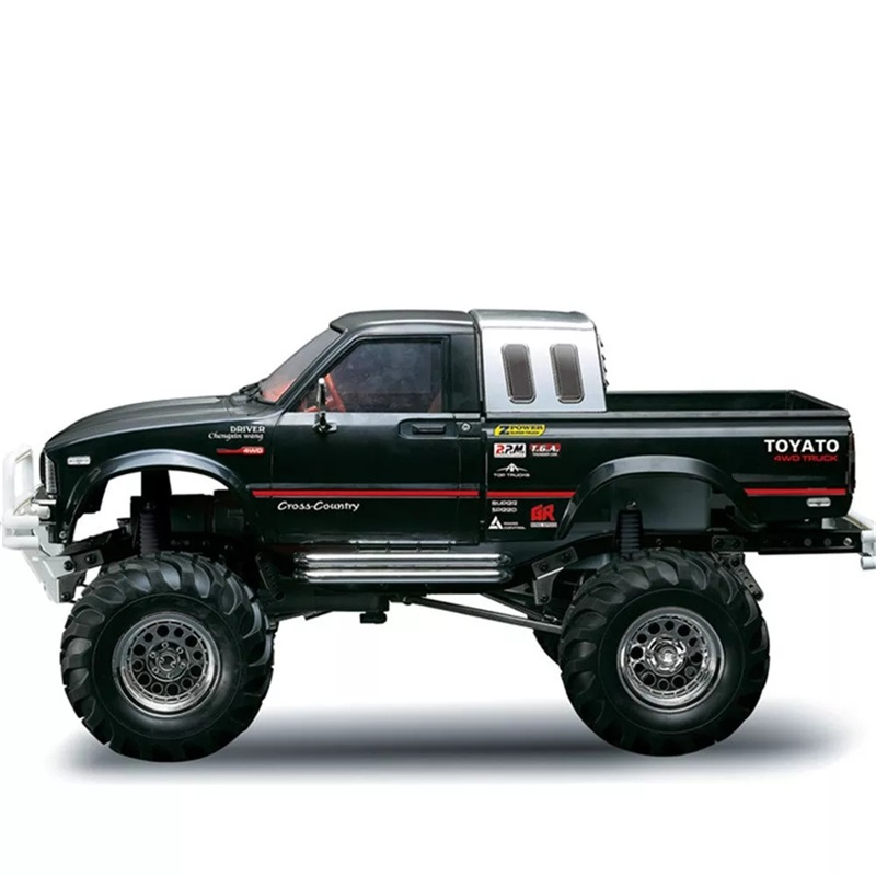 RTR <strong>Car</strong> HG P407 1/10 2.4G 4WD Rally Rc <strong>Car</strong> Metal 4X4 Pickup Truck Rock Crawler Bruiser