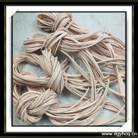 High Quality Cow Leather Shoe Laces