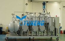 Tyre Oil Recycling to Base Oil Machine,Waste Tyre Oil Pyrolysis Purification Plant