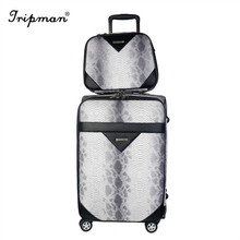 3 pcs 4 wheels travel cheap spinner suitcase trolley case luggage set
