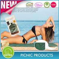 2017 Sand Escape Compact Outdoor Beach Blanket / Picnic Blanket . Made From Strong Parachute Nylon