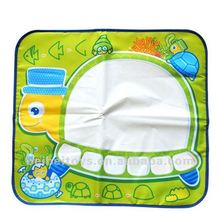 Turtle Water Magic Drawing Mat, Water Magic Doodle, Baby Drawing Playmat