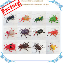 Factory Insect Toy Plastic Mini Insect PVC Toy Figures Mini Animal Toy