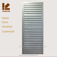 French style Internal cheap wood removable louver room divider