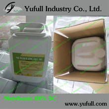 agrochemical herbicide Metribuzin 70%wp factory price high quality