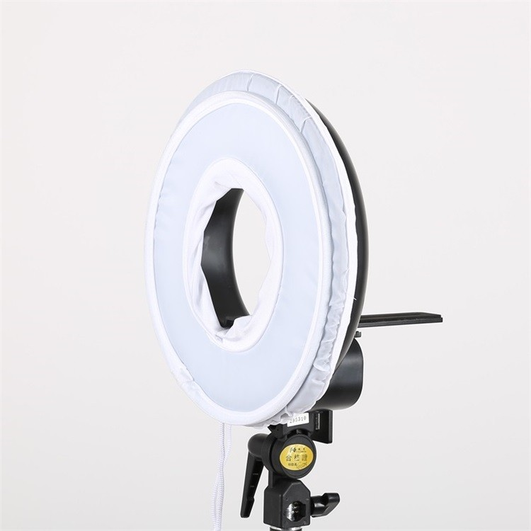 300 Ring LED Panel 3000K-7000K Film Shooting Continuous Light W Camera Bracket DVR-300DVC LED Photography Ring Light 6.jpg