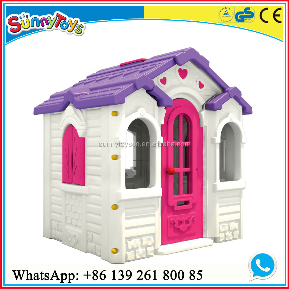 Kids outdoor playground mini house/plastic kids house