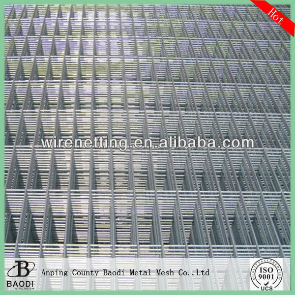 Retangular Grid Wire GI. Welded Mesh Panel