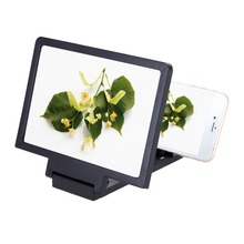 Portable Mobile Phone Screen Magnifier Eyes Protective Display 3D Video Screen Amplifier Folding Enlarged Expander Stand