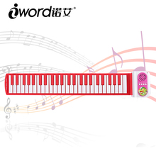 iWord Waterproof 49 keys silicone piano flexible keyboard piano usb roll up piano beginner or children