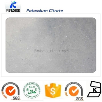 FOOD GRADE POTASSIUM CITRATE