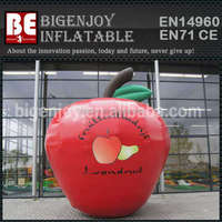 Inflatable Apple Model For Advertising