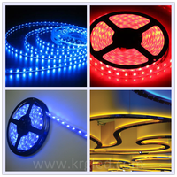 Colordreamer ip65 led strip rgb 8mm 120 leds/m rgb led strip 5050