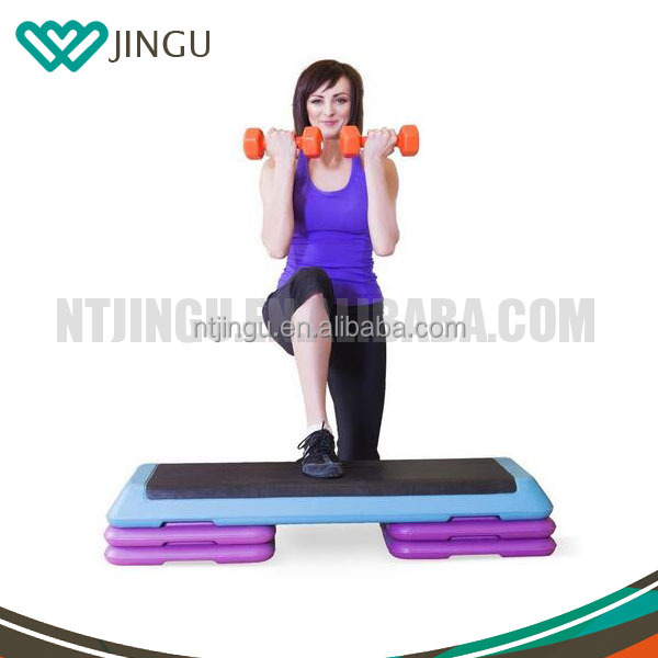 Newest fitness cheap adjustable aerobic step for training