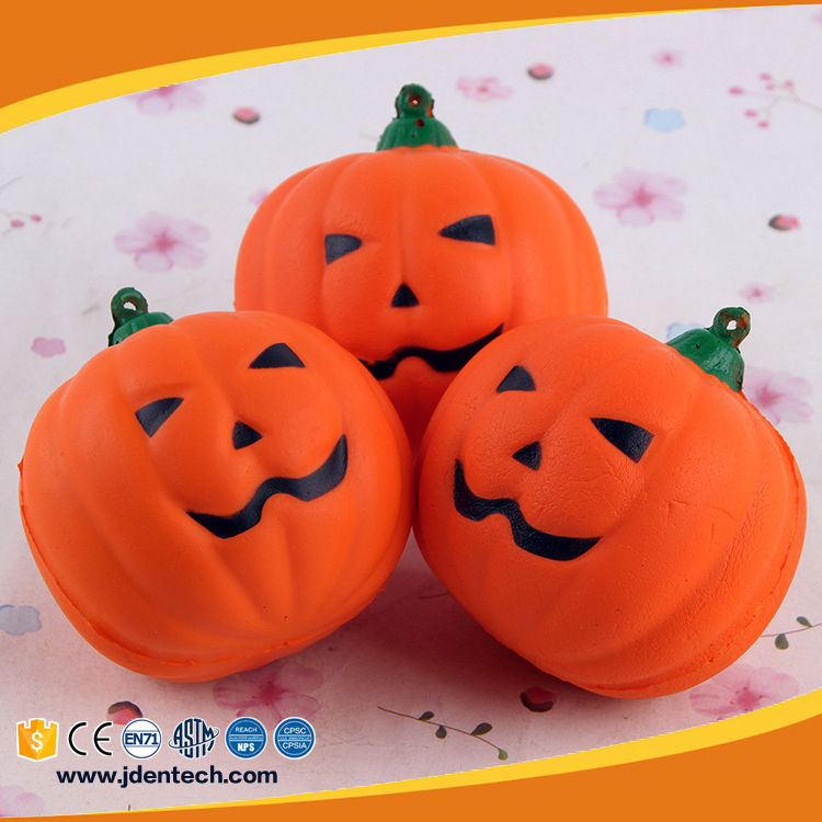 Spoof hallowmas simulation soft pumpkin slow rising squishy toy