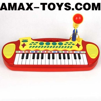 IO-1113132B Toys electronic organ Children multifunctional electronic organ with microphone
