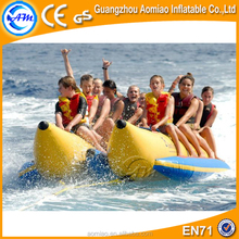 High quality double boats inflatable banana boat pvc inflatable banana boats price