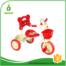 Three wheels High quality baby children tricycle with trailer