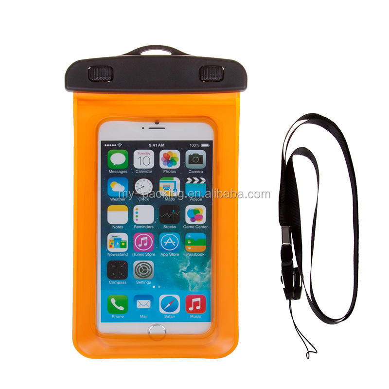 Customized cell phone protection bag waterproof pouches