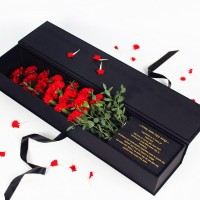 Single Rose Box For Flowers Gift
