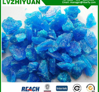 LVZHIYUAN Copper sulphate blue Stone 98%min China supplier