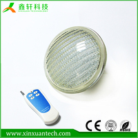 High quality high brightness 12v underwater IP68 par56 led swimming pool lighting