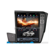 "tesla style 12.1""inch android car multimedia for Honda 2012 CIVIC autoradio stereo dvd players with GPS 2 din double 10.4"""