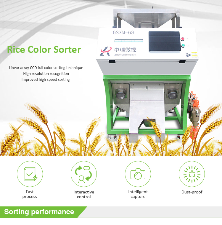 Hot Sale Factory Offering New Rice Color Sorter For Rice Mill