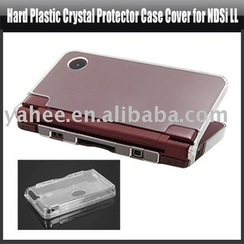 Hard Plastic Crystal Protector Case Cover for NDSi LL,YHA-ND017