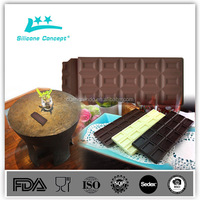 Food Grade silicone chocolate/ silicone ice cream mould
