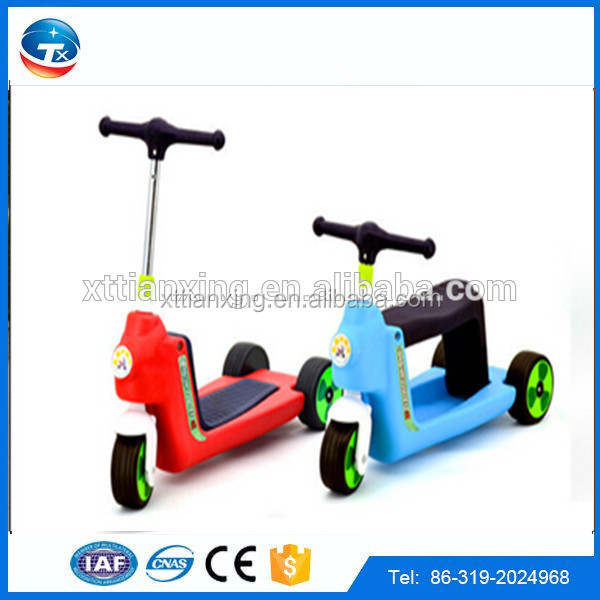 www.alibaba.com.cn China online wholesale new cheap price three wheel children kick scooter with pedal