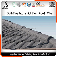 Top Brand In China Building Material Metal Roof Tile House Cover Materials