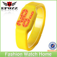 2013 Excellent high quality led watch with USB multi-function colorful silicone strap