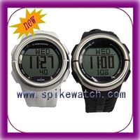 New model dual time heart rate monitor watch, calorie counting watch, sport watch