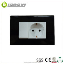 Modular Design Egypt Type Wall Switch Socket (LYU1-1-1(HL))