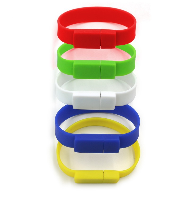 Bulk wristband/Bracelet flash usb drive/memory flash 16GB 32GB for Kingston
