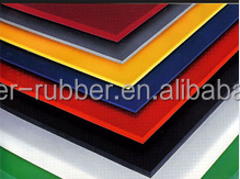 TENSON 65 shore hardness SBR rubber sheet