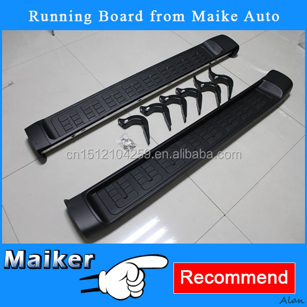 Original style car spare parts Running Board for Toyota FJ Cruiser 2007+ Foot Plate/Pedal Plate car exterior accessories