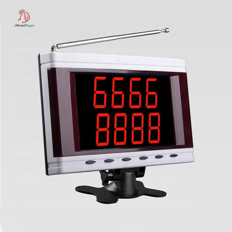 Service numéro d'appel moniteur montrant 2 groupes de 4 chiffres - ANKUX Tech Co., Ltd