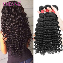 Yvonne deep wave 8a grade brazilian hair